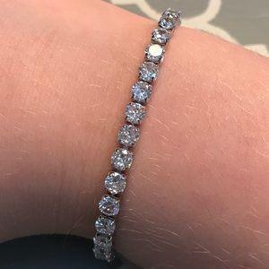 Silver Bracelet Good Quality Adjustable Size.
